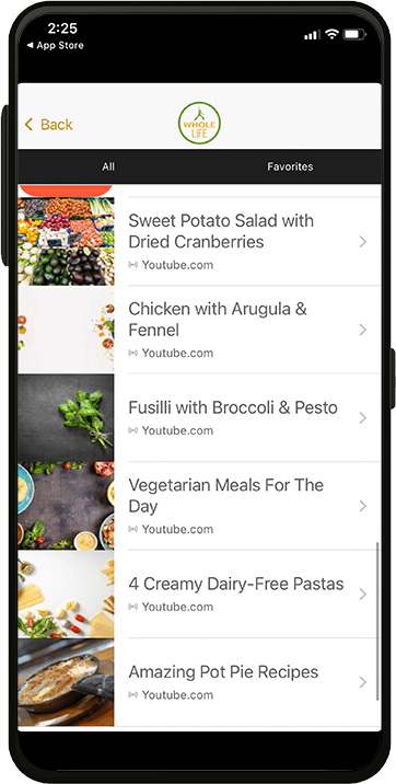 WholeLife NJ Smartphone App